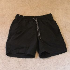 Merona Black Men's Swim Trunks